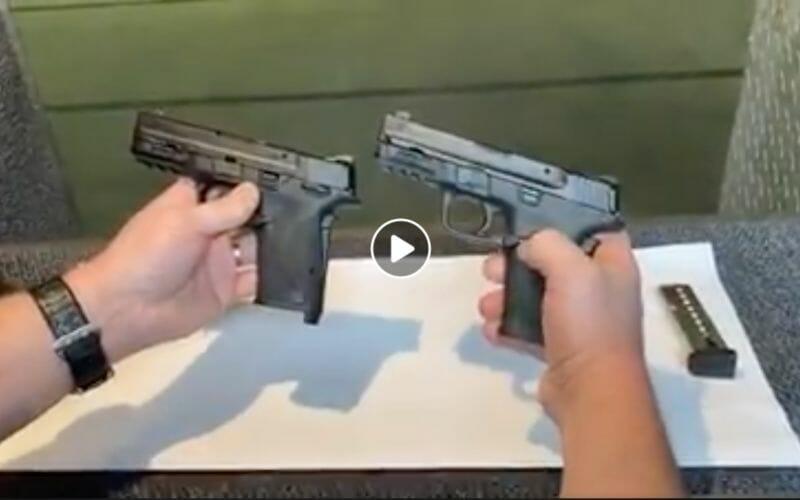 New Smith & Wesson M&P Shield 9mm EZ