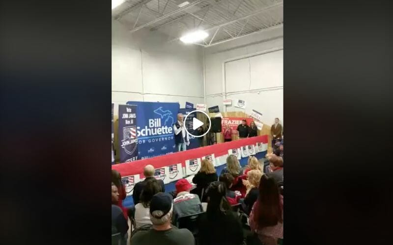 FB Live: Bill Shuette Rally